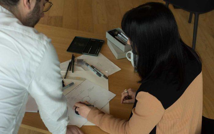 Michael Fux Anna Design Lunor Designer glasses design