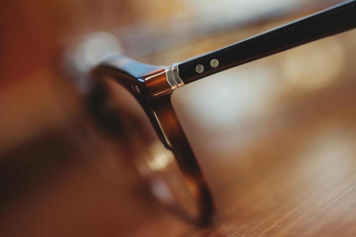 A13 Lunor Vintage Acetatbrille Nerdbrille