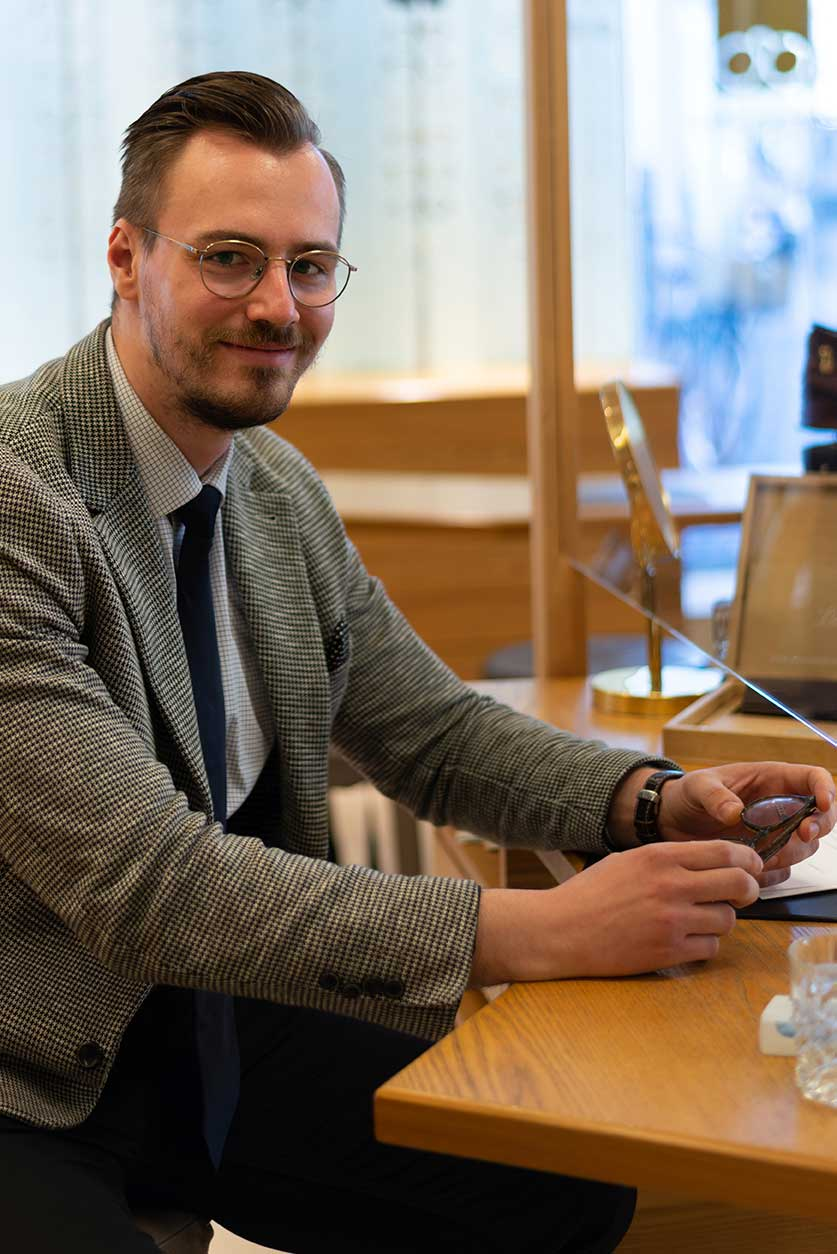 Optiker Carl Müller Frankfurt Christoph Nier